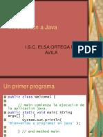 Introduccón a Java