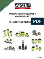 Manual de Instrucciones y Mantenimiento Cilindros Hidraulicos