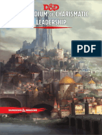 D&D 5e Compendium of Charismatic Leadership