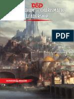 D&D 5e Compendium of Charismatic Leadership