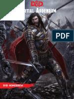D&D 5e Martial Addendum v0.3