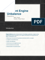Inherent Engine Unbalance( 11am to 2pm)
