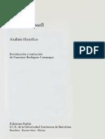 Russell Bertrand - Analisis Filosofico.pdf