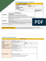 Evaluación de Herramientas Para El Aprendizaje y Apoyos Requeridos Formato
