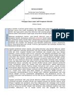 Contoh Makalah Dan RTP-OJT-I