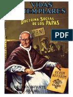 Vidas Ejemplares - Doctrina Social de Los Papas
