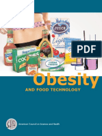 Obesity and Food Technology
