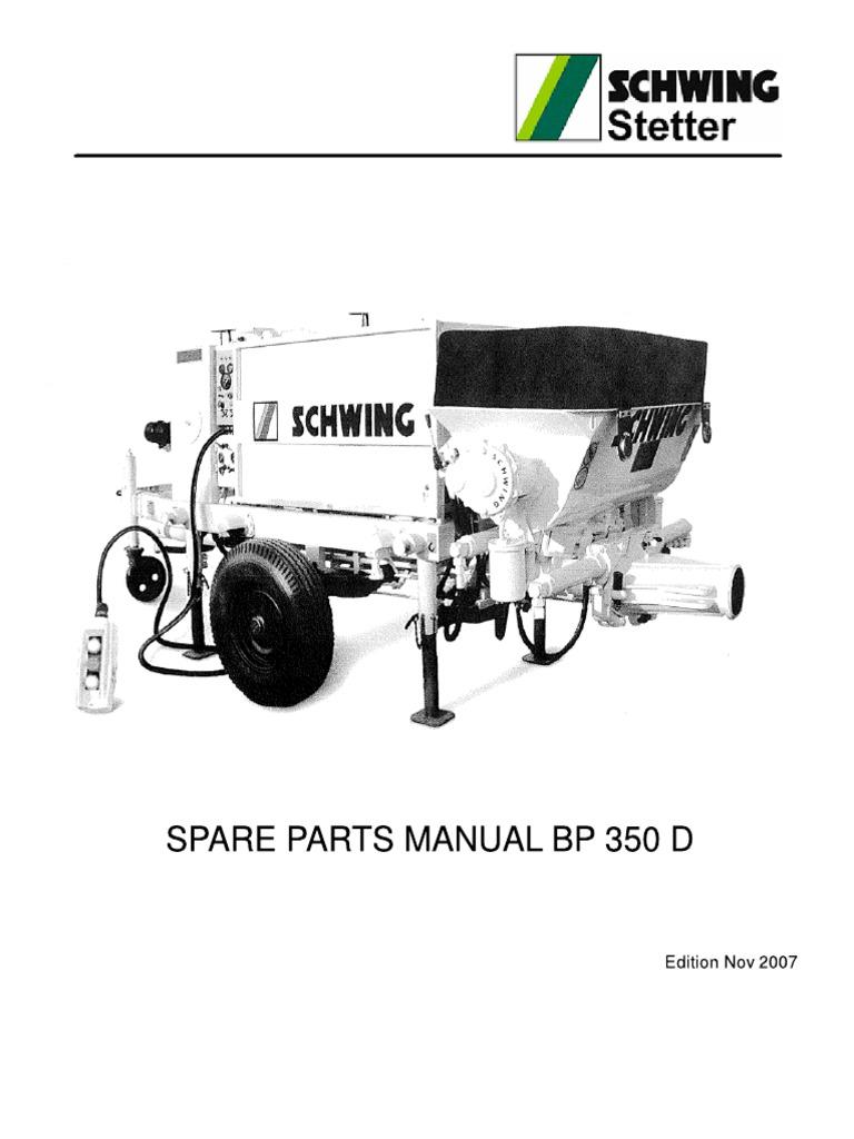 Concrete Pump Parts Model Schwing Ram Flange 6 DN150 S10161863 ...