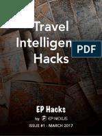 Travel Intelligence Hacks