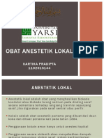 Obat Anestetik Lokal