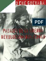 Ernesto Che Guevara Pasajes de La Guerra Revolucionaria Congo