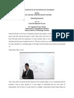 data analysis by nayak