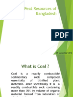 Coal & Peat Resources of Bangladesh