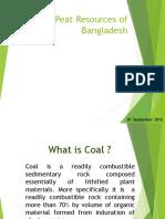 Coal & Peat Resources of Bangladesh