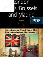 Chapter 8 Rizal in London, Paris, Brussels and Madrid