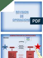 Revision Operaciones