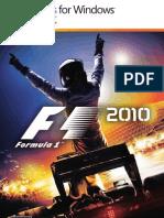 F1 2010 Manual