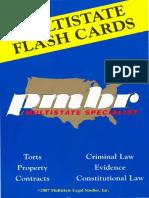 PMBR Flash Cards - Criminal Law - 2007