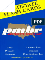 PMBR Flash Cards - Criminal Law - 2007