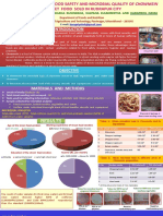 Assessment of Food Safety and Microbial Quality of Chowmein