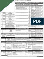 PPSC  Advt 02-2018- 19-01-2018