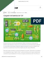 Cargador de Baterías de 12V - NeoTeo