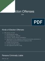 Election Law Presentation