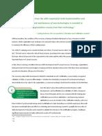 Development White Paper 2009
