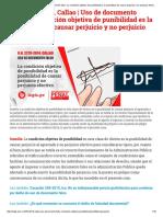 Uso de Documento Falso_ La Condición Objetiva de Punibilidad Es La Posibilidad de Causar Perjuicio y No Perjuicio Efectivo _ Legis