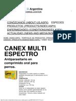 Canex Multi Espectro
