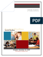 Social Studies Standards Adopted 12.10.09 Corrected 10.15.14