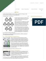In General Propetieswise- 7 Types of Plastic