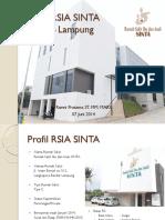 Profil RSIA SINTA Bandar Lampung