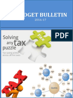 Budget Bulletin 2016 17 by asc group - magazine