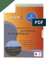 Contexte Energétique Des Eoliennes