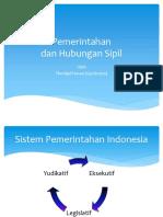 PKn Pemerintahan dan Hubungan Sipil ppt