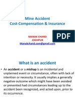 Accident Cost-Compensation & Insurance 1 2
