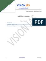 Legislative Procedures Safeguards Final