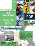 Tema 6. Integracion de Recursos