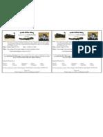 YAA SOA School Supply Drive Flyer