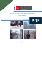 Plan de Contingencia de Heladas y Friaje 2017