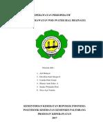 Asuhan Keperawatan Pemasangan WSD (Keperawatan Perioperatif)