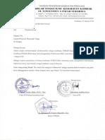 Surat Pengantar PSC 1268
