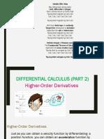 Lesson 4 Differential Calculus