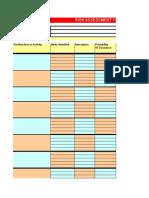 BB14D7 Sample Risk Assessment Form