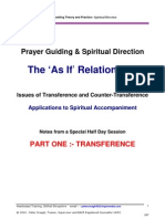 Transference and Spiritual Direction