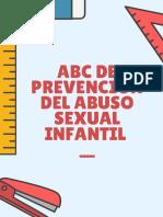 ABC de la Prevención Del Abuso Sexual Infantil
