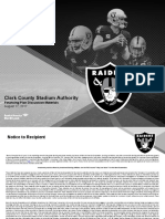 Oakland Raiders Las Vegas Stadium Authority Financing Presentation
