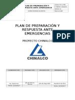 Plan de Preparación y Respuesta Ante Emergencia