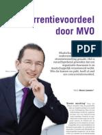 Artikel - Building Innovation - Concurrentievoordeel door MVO - 0908